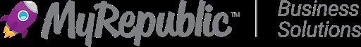 Logo of MyRepublic: Fibre Broadband Internet Provider