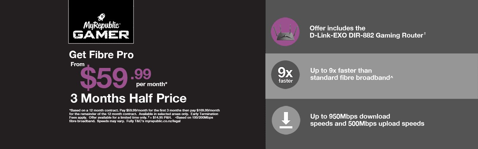 Super Fast VDSL & Fibre Internet Pricing | MyRepublic New Zealand