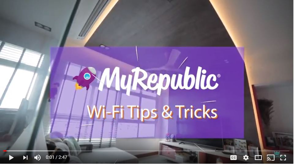 MyRepublic Tips & Tricks