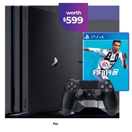 MyRepublic PlayStation®4 Pro GAMER Bundle