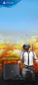 Playstation 4 Pro with PUBG Game