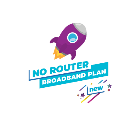 fibre broadband router